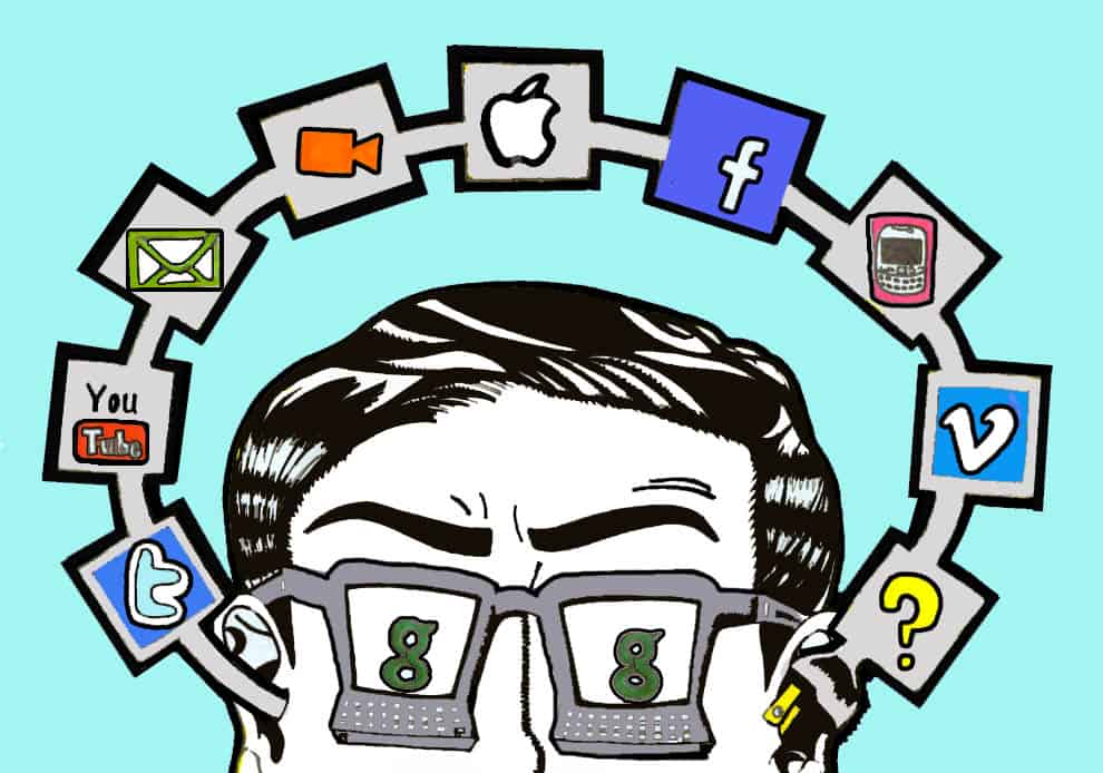 Professors gradually embrace social media