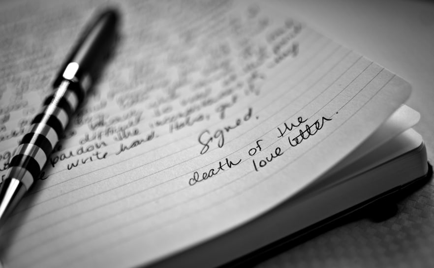 Letters of love to nowhere