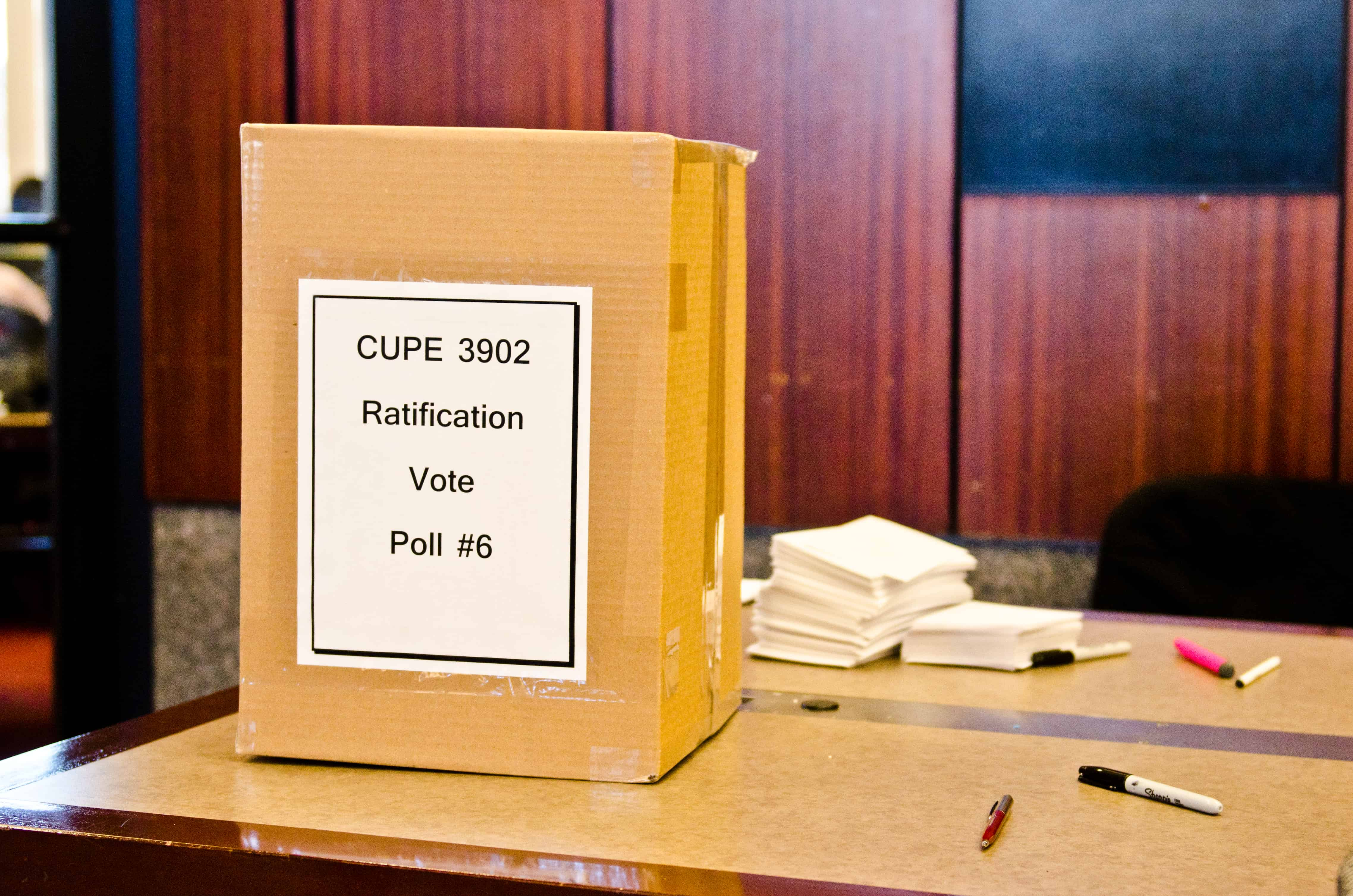 CUPE strike prevented, deal ratified