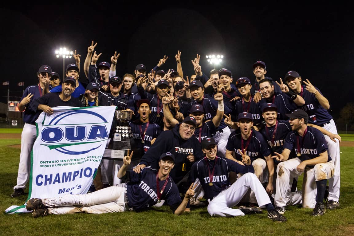 Blues' baseball team defeat Brock, repeat as OUA champions