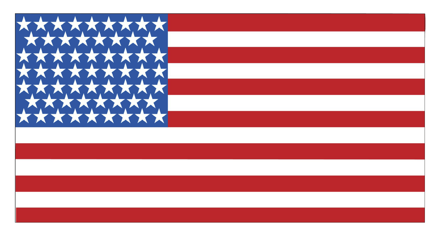 This is an image of Declarative Free Printable American Flag