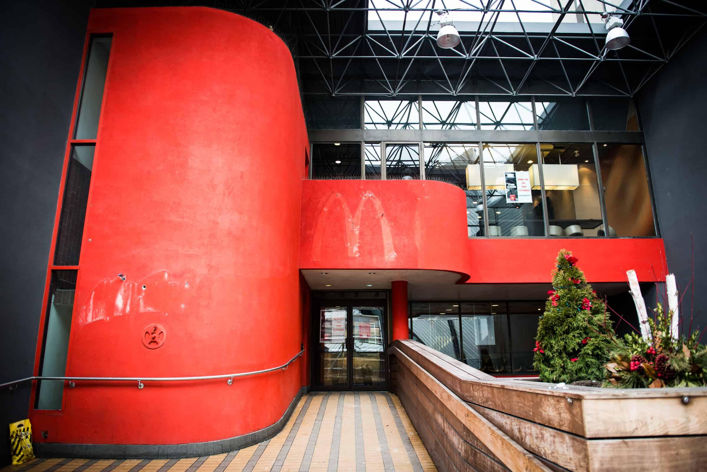 Bloor McDonald's location shuttered