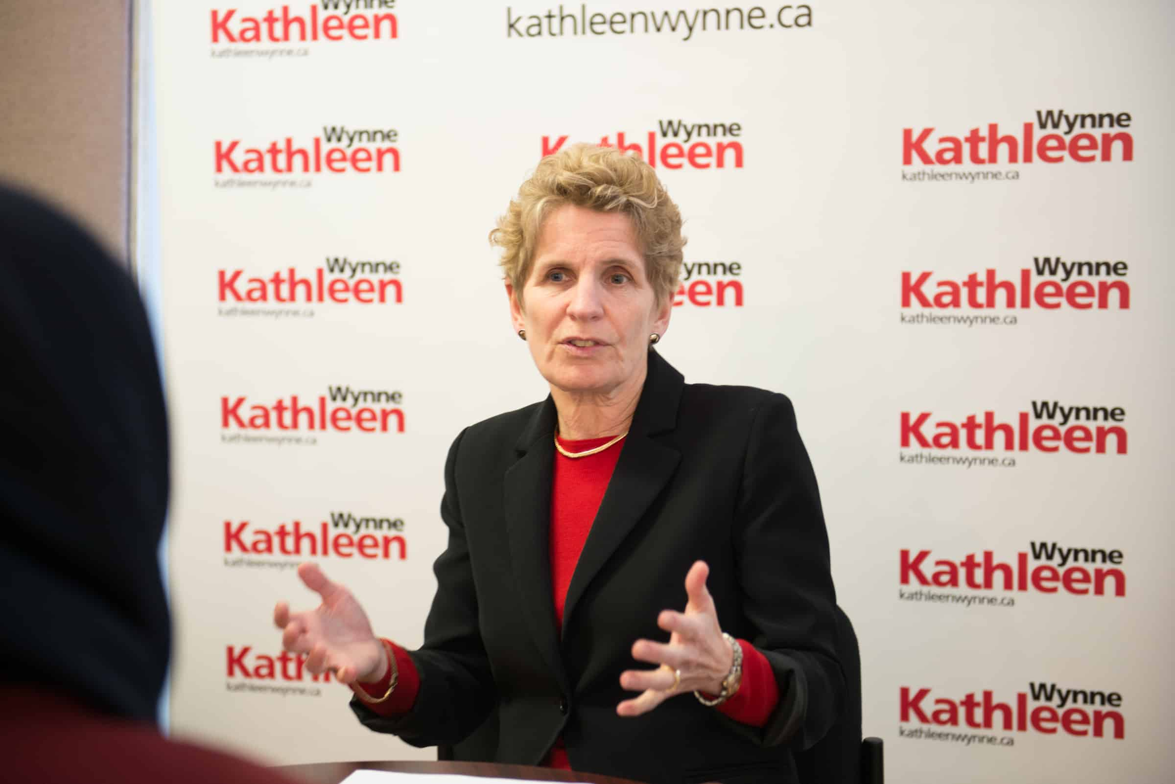 Kathleen Wynne unveils post-secondary education platform
