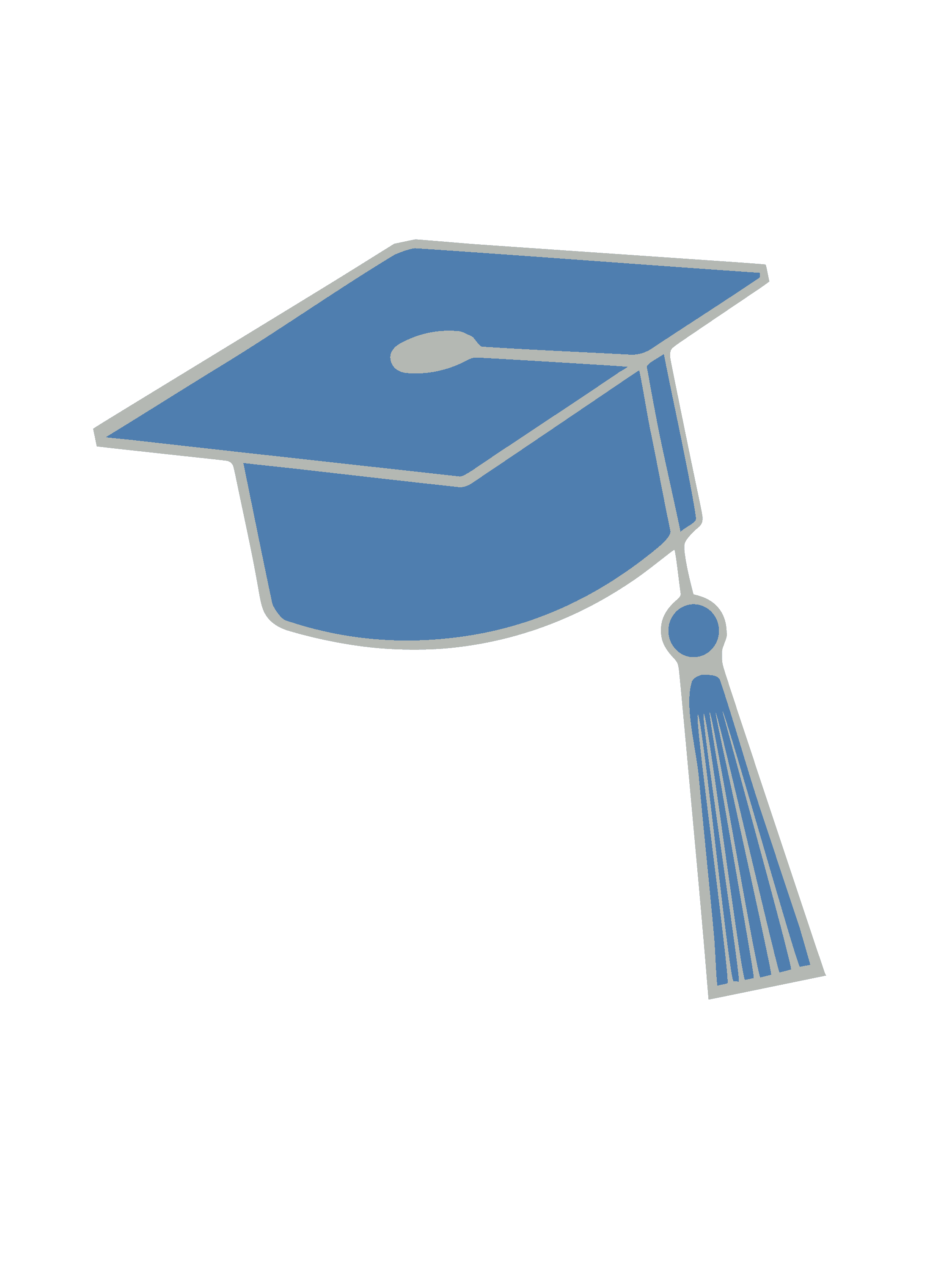 Blue Graduation Hat Png | www.imgkid.com - The Image Kid ...