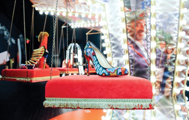 Review: Christian Louboutin at the Design Exchange