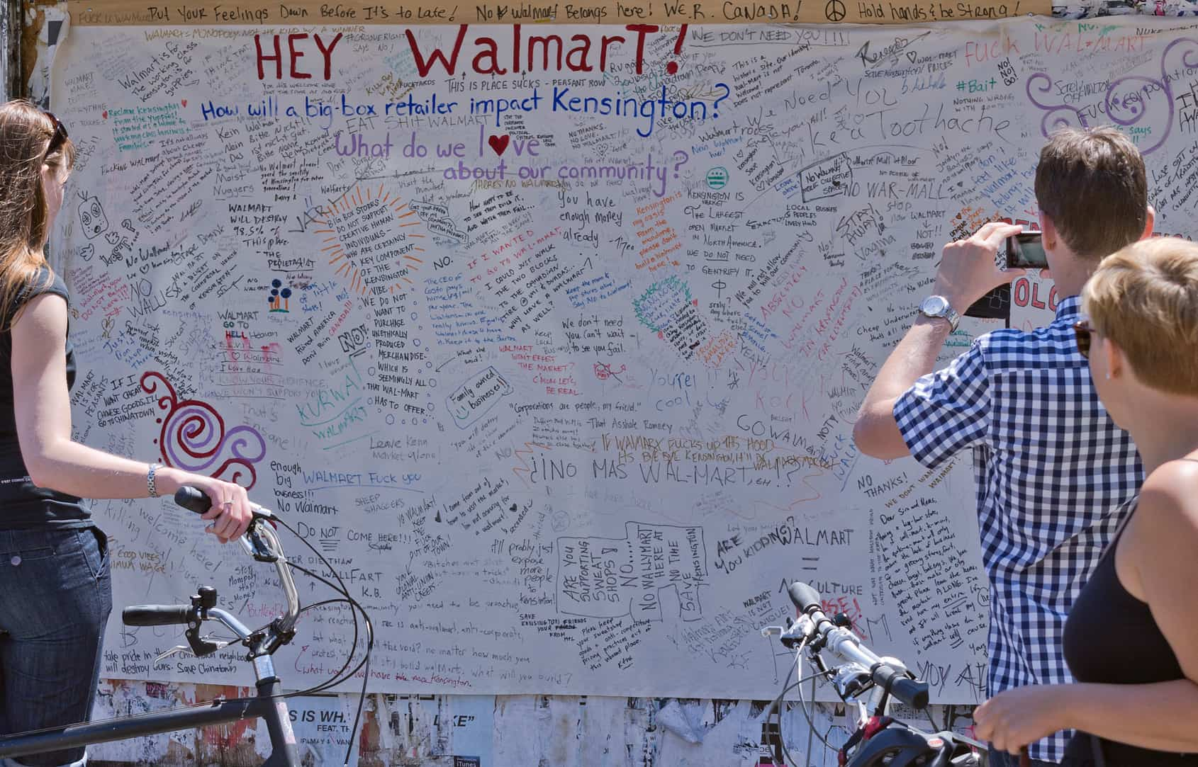 Friends of Kensington raised over $23,000 to study impact of Walmart