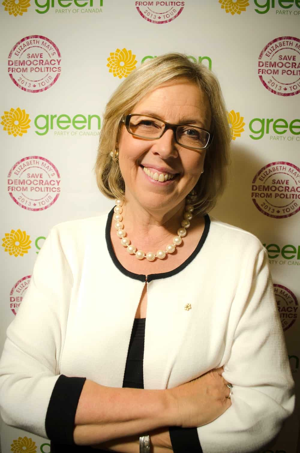 Elizabeth May seeks to reform democracy