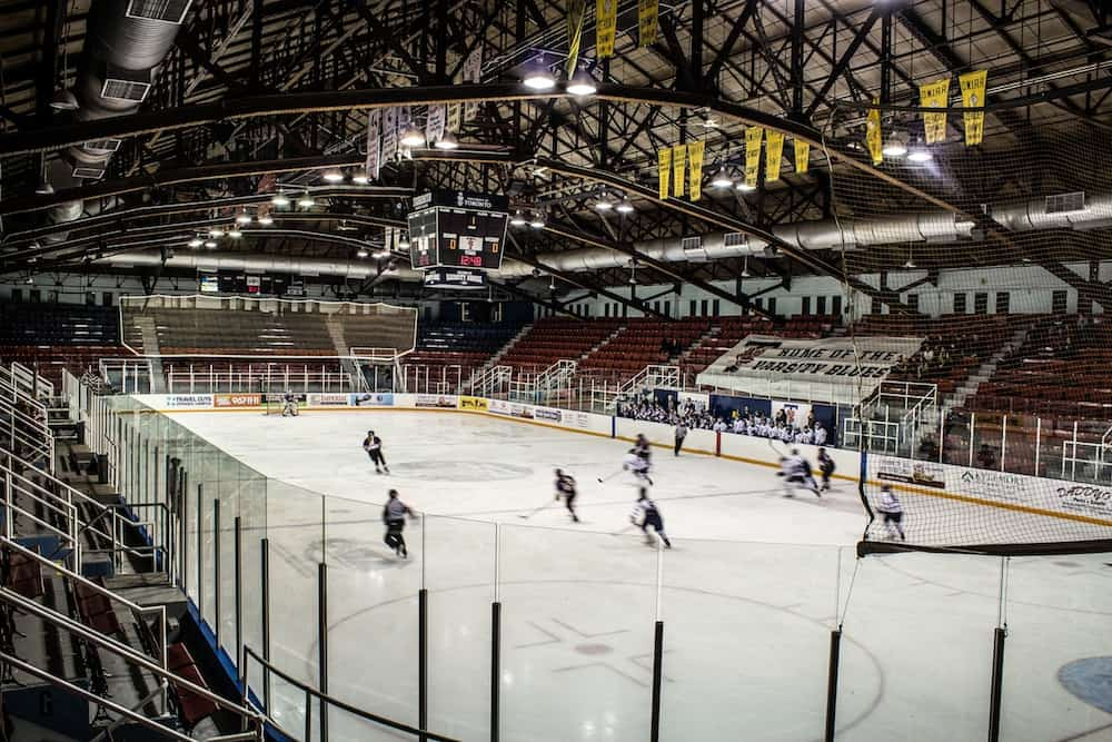 Women's Varsity Blues hockey dominate the Waterloo Warriors