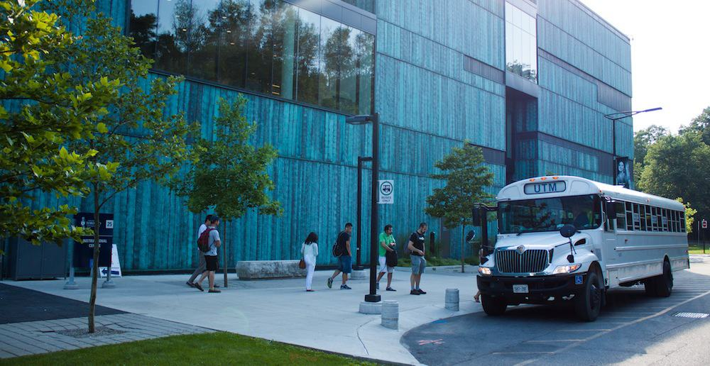 U of T plans for the Brampton campus to have transit links with UTM. CAROLYN LEVETT/THE VARSITY