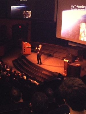 Chris Hadfield enthralls Con Hall