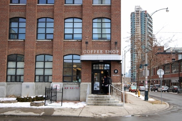 A repurposed toy factory in Liberty Village now houses lofts and a coffee shop. ADAM ZACHARY/THE VARSITY