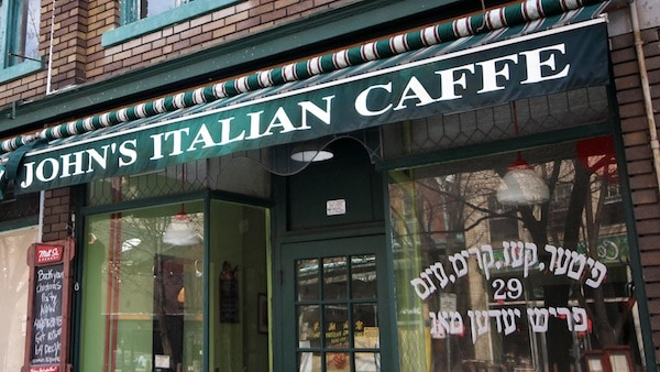 This Jewish-Italian restaurant is a neighbourhood landmark in Baldwin Village. ADAM ZACHARY/THE VARSITY