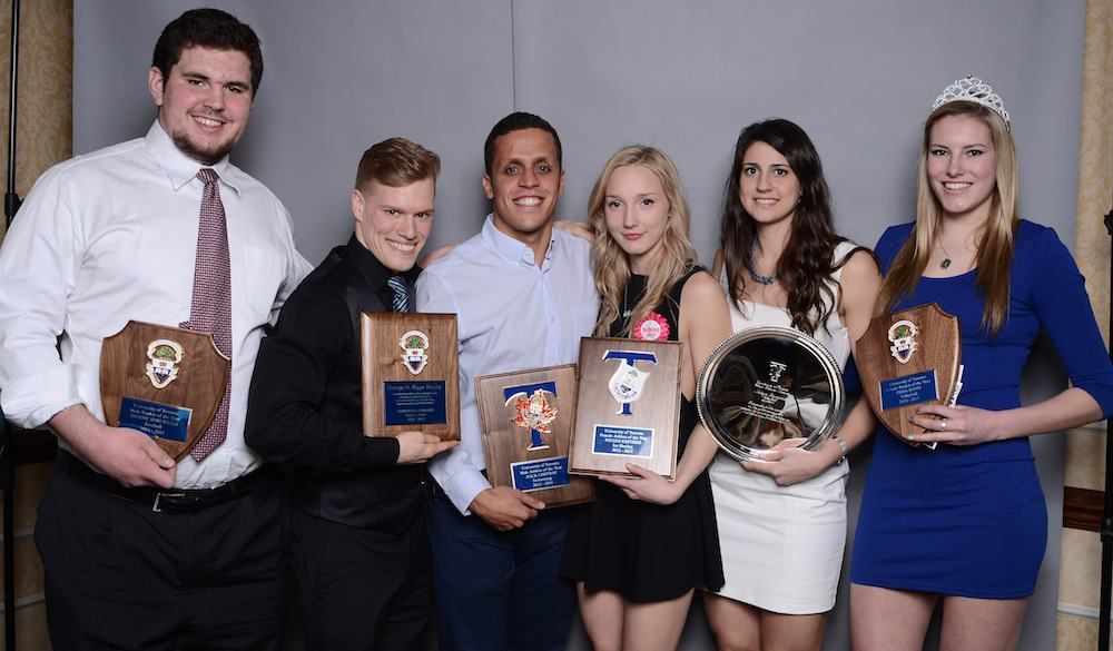Kesteris, Chetrat named Varsity Blues athletes of the year