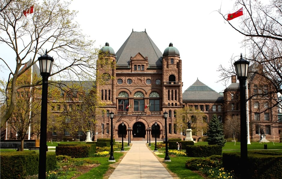 Queen's Park, home of the Legislative Assembly of Ontario. HELENA NAJM/THE VARSITY