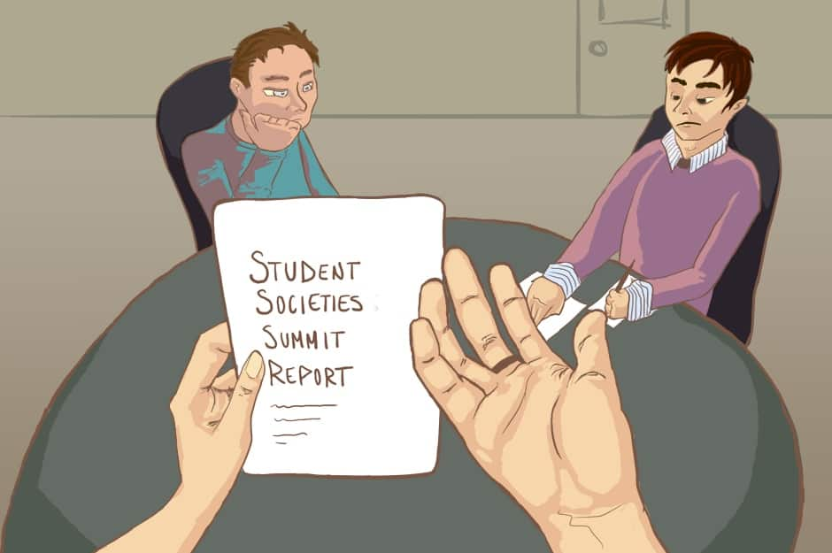 Students seek clarification on  Student Societies Summit report