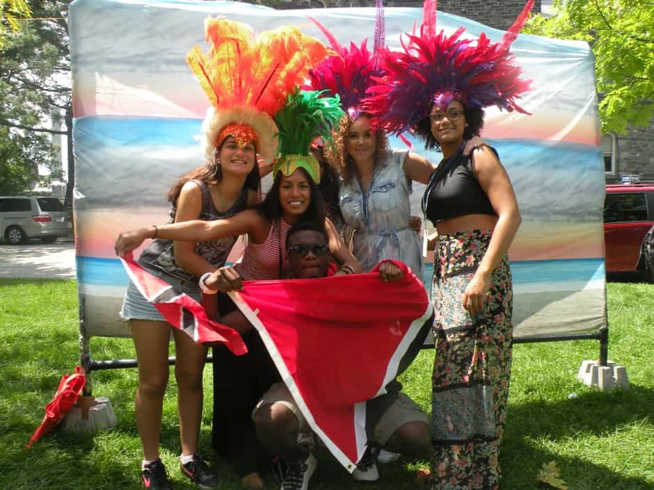 Revellers at the UTSU Caribana event. PHOTO COURTESY OF GRAYCE SLOBODIAN
