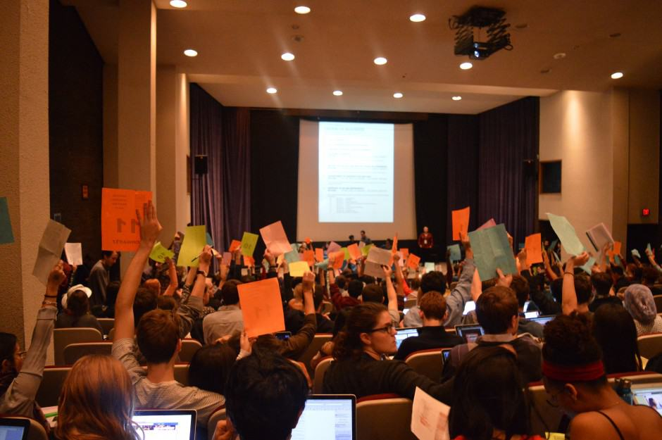 Contentious board proposal defeated