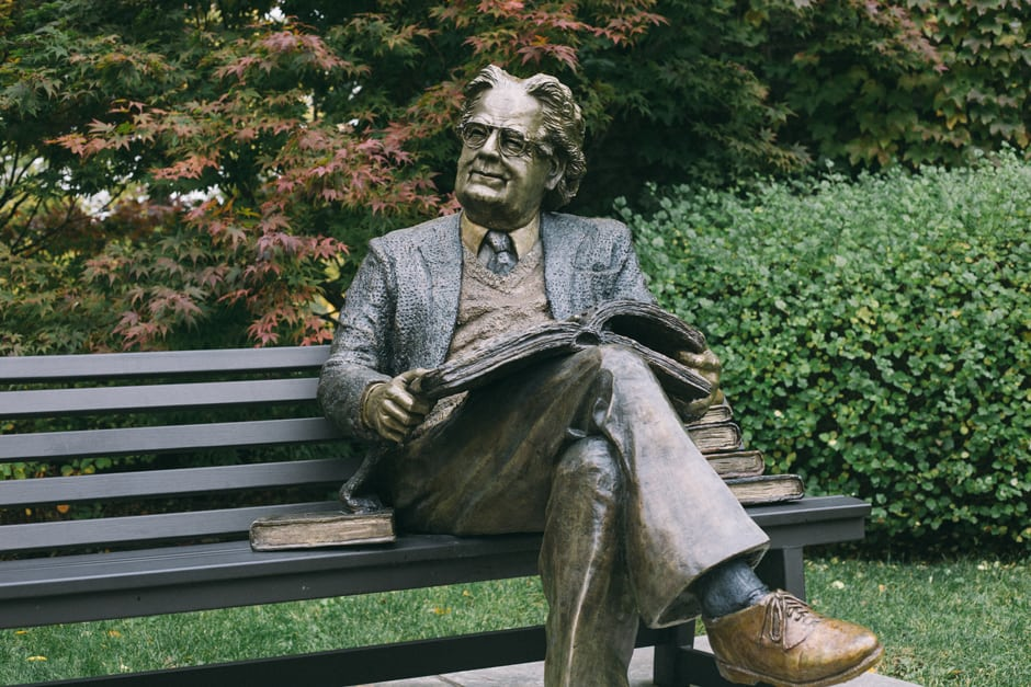 Northrop Frye. ALL PHOTOS BY JAY BAWAR