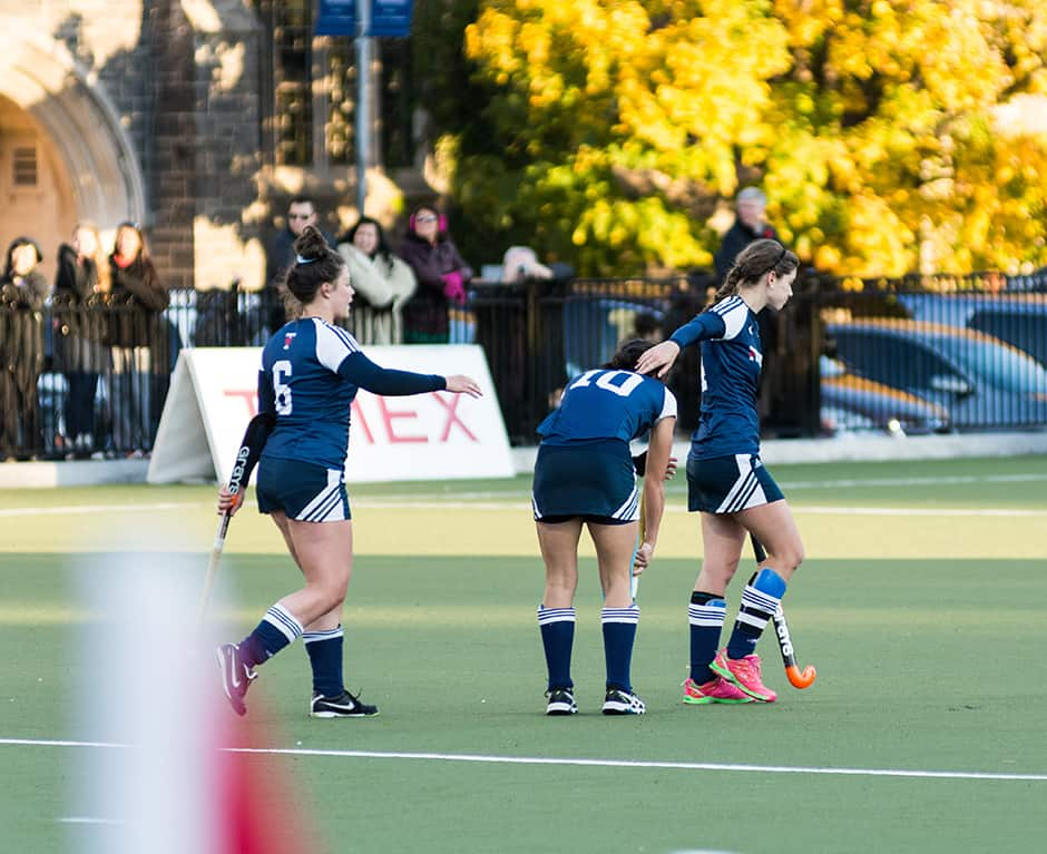 Blues lose their first game of the year 2-0 to UBC in the championship game.