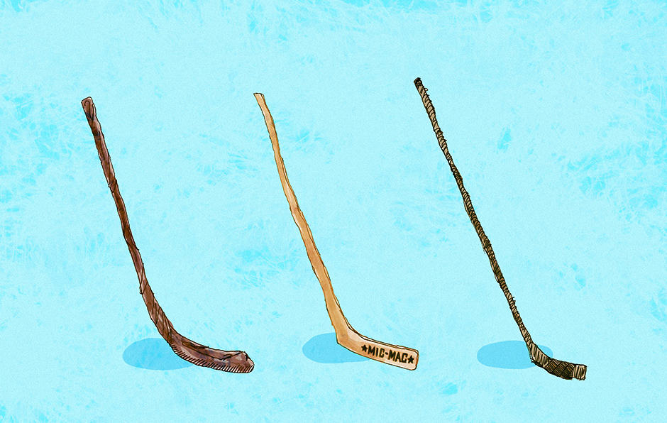 The history of the hockey stick