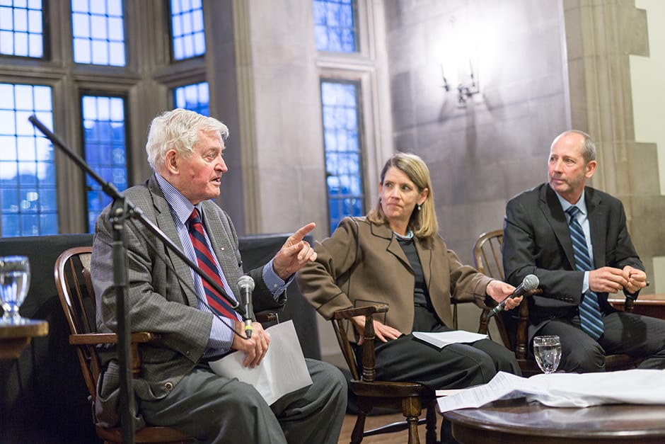 Former PM John Turner draws large crowd at Hart House event