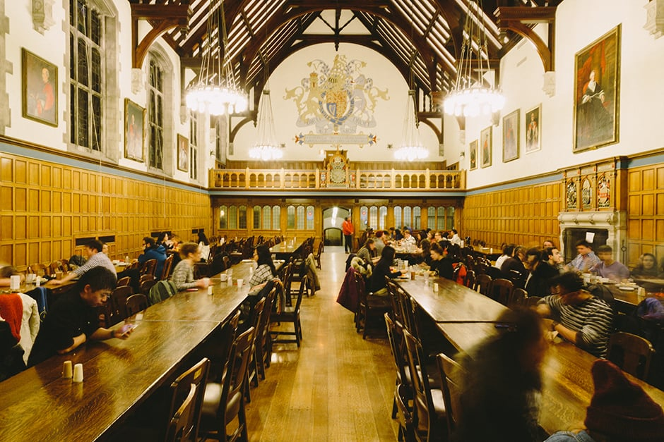 Student connoisseur dining hall edition the varsity for Missouri s t dining hall hours