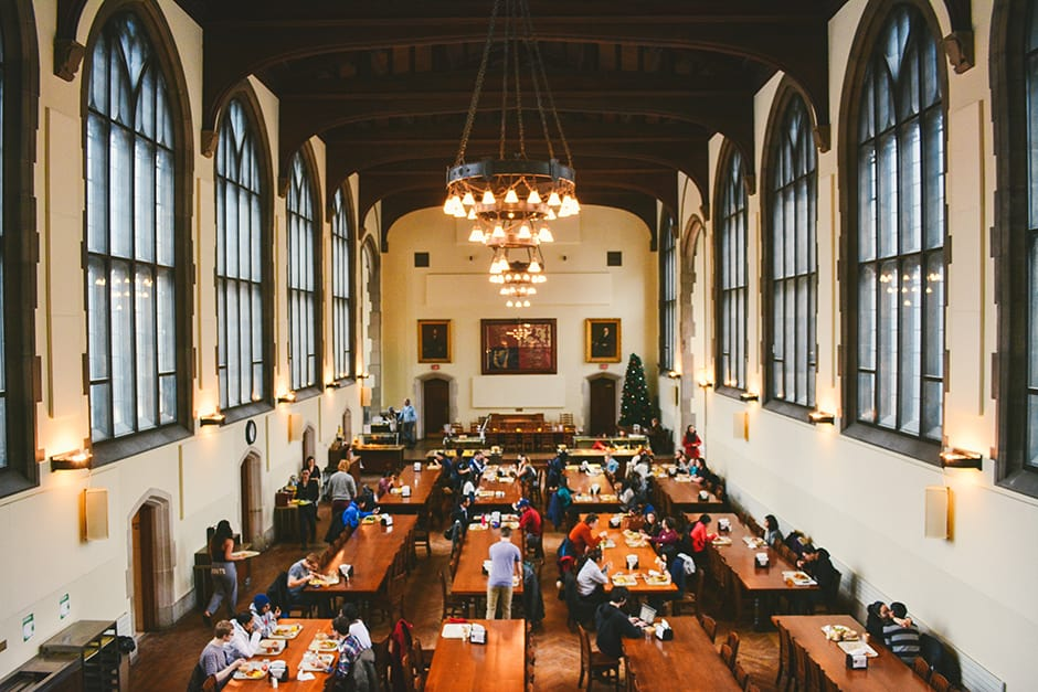 Student connoisseur dining hall edition the varsity for U of t dining hall