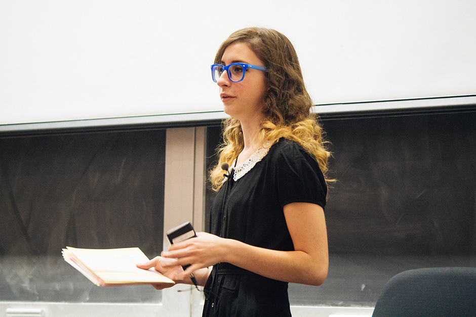 Chelsea Ricchio. FILE PHOTO: MALLIKA MAKKAR/THE VARSITY