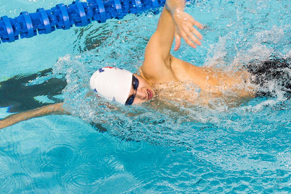 Varsity Blues swimming team finishes impressive season