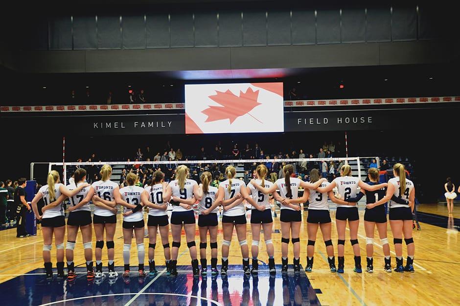 U of T hosts women's volleyball CIS championship