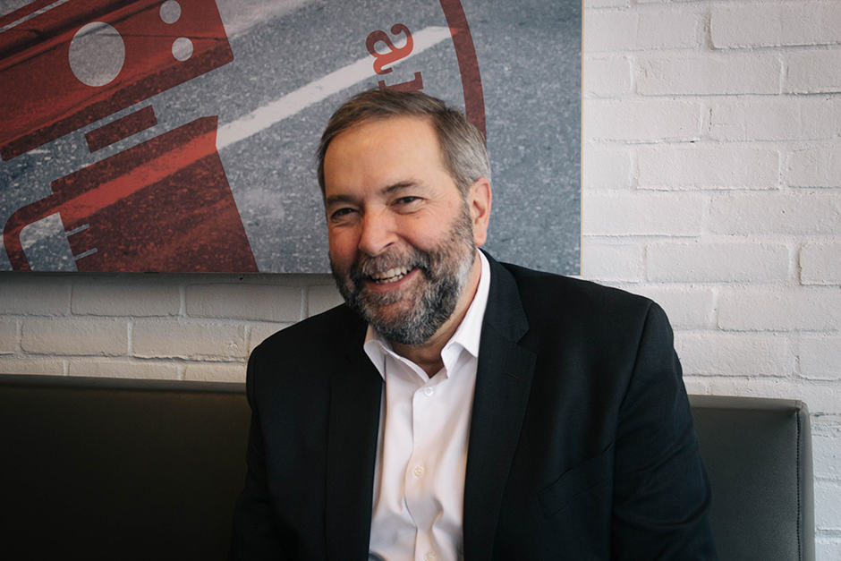 In conversation with Thomas Mulcair