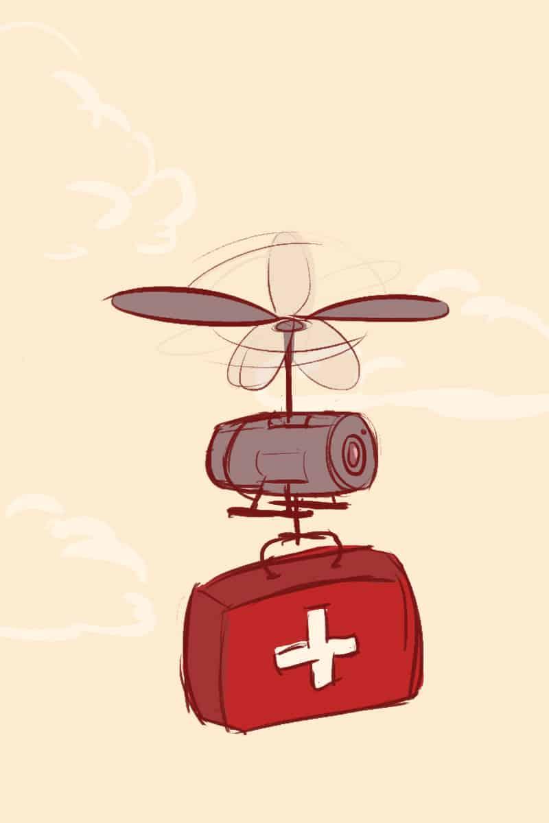 Drones: friend or foe?