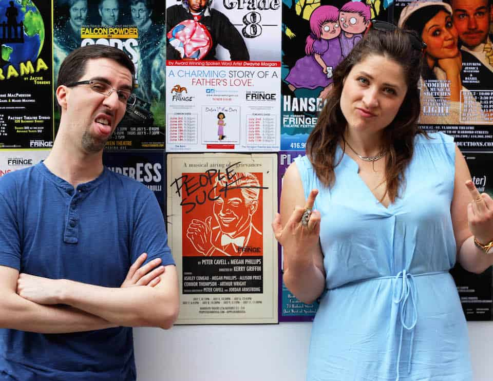 People Suck is a must-see at this year's Fringe Festival