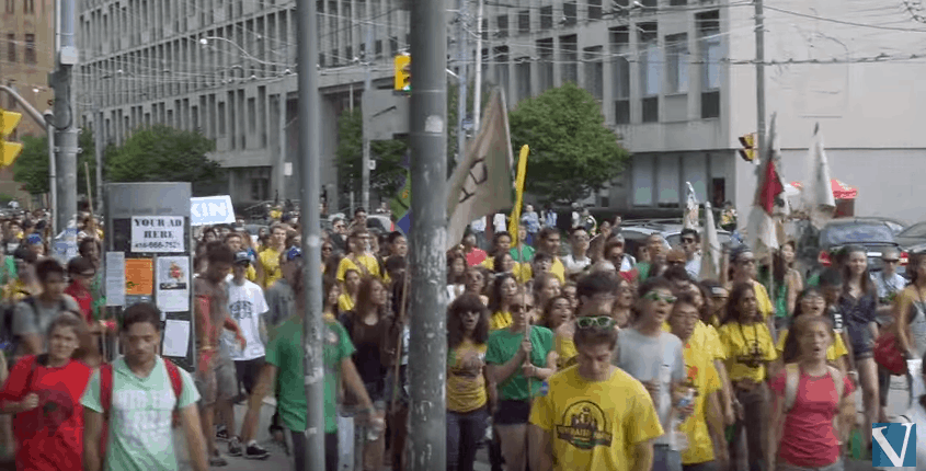 Frosh Parade Video
