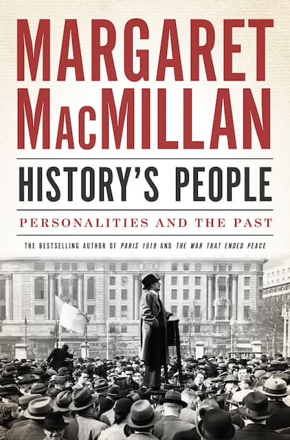 Book jacket for History's People. Courtesy Laura Meyer.