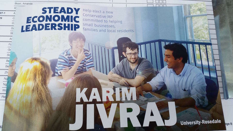 U of T students appear on federal campaign flyers unwittingly