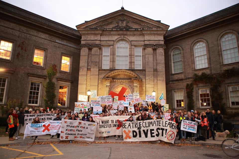 U of T has lost $550 million by choosing not to divest from fossil fuels, report claims