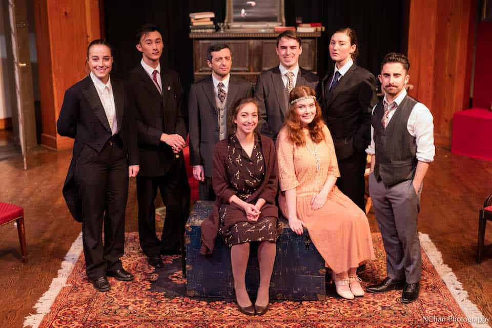 The cast of Rope. Nathan Chan/THE VARSITY