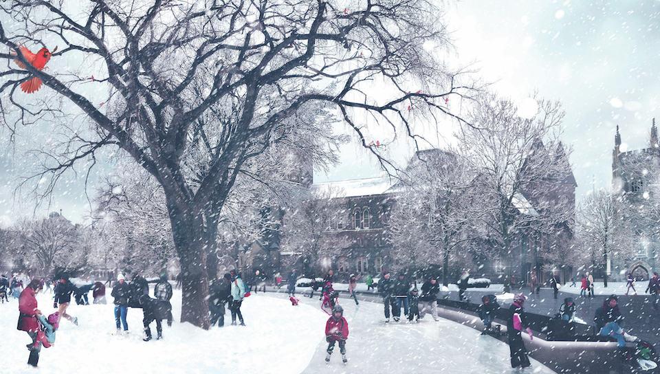 Art review: four design proposals for front campus