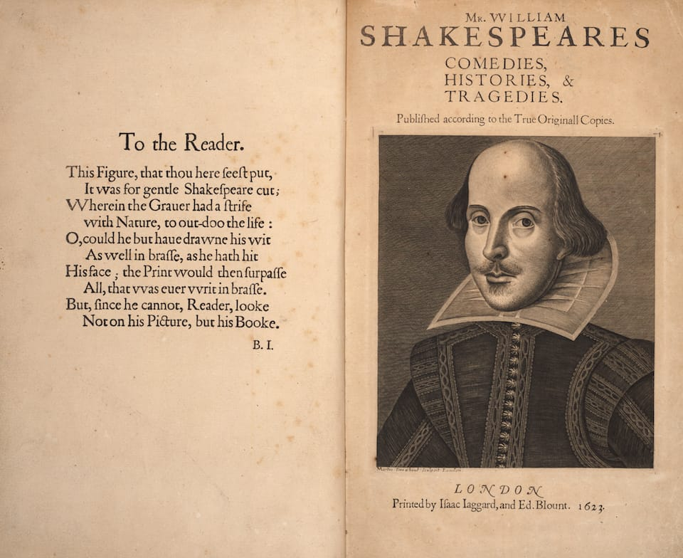 Shakespeare's First Folio goes on display at Fisher Library