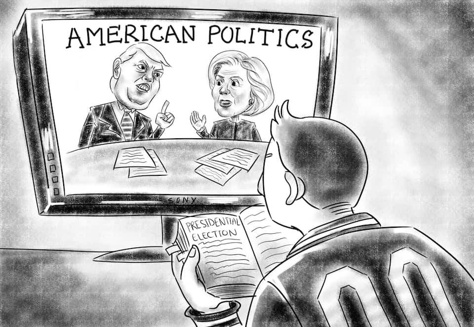 Should students care about the American presidential election?