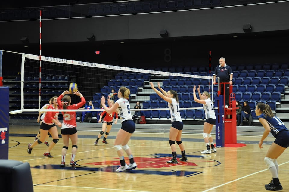 Blues volleyball pummel Paladins