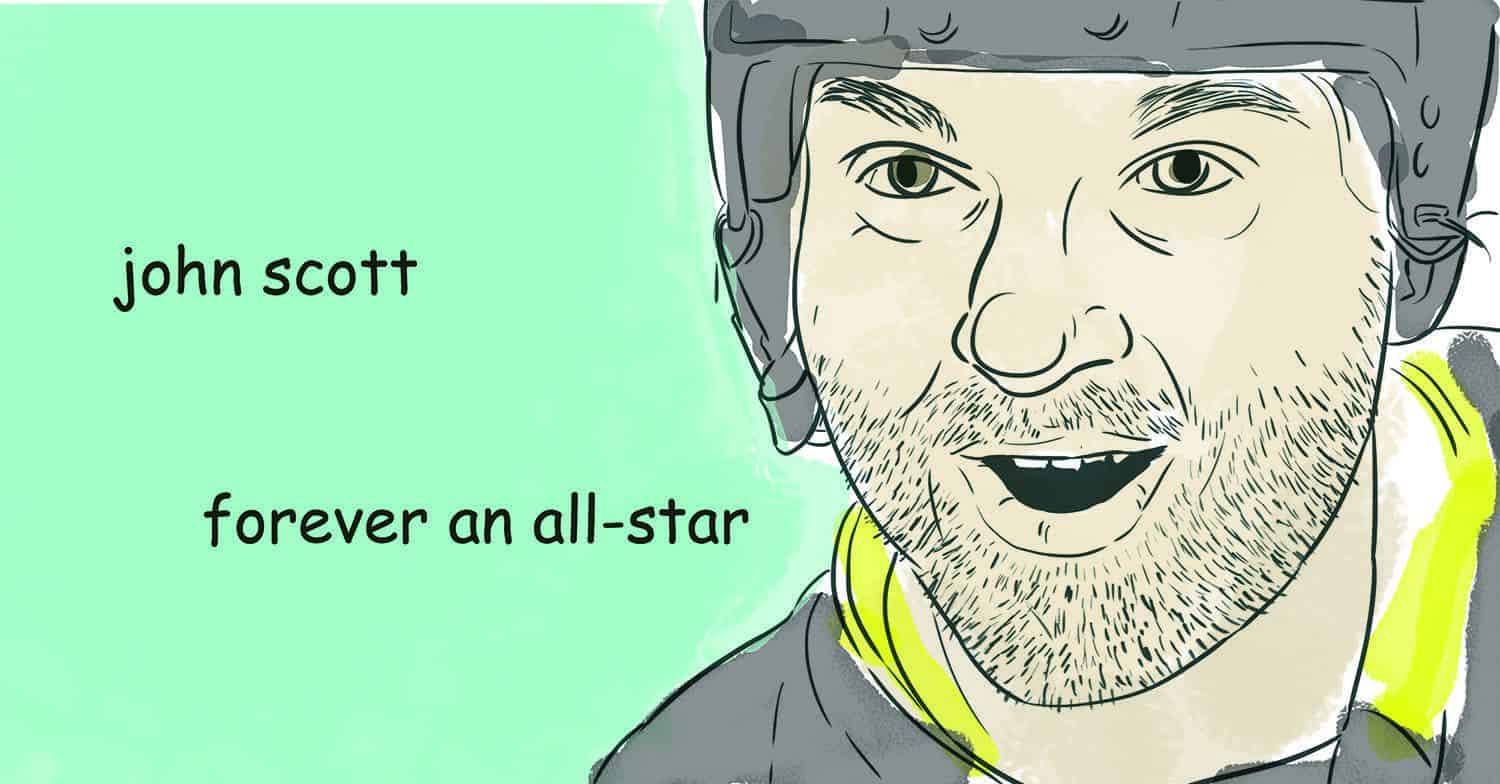 The triumph of John Scott (and other uninspiring athletes)