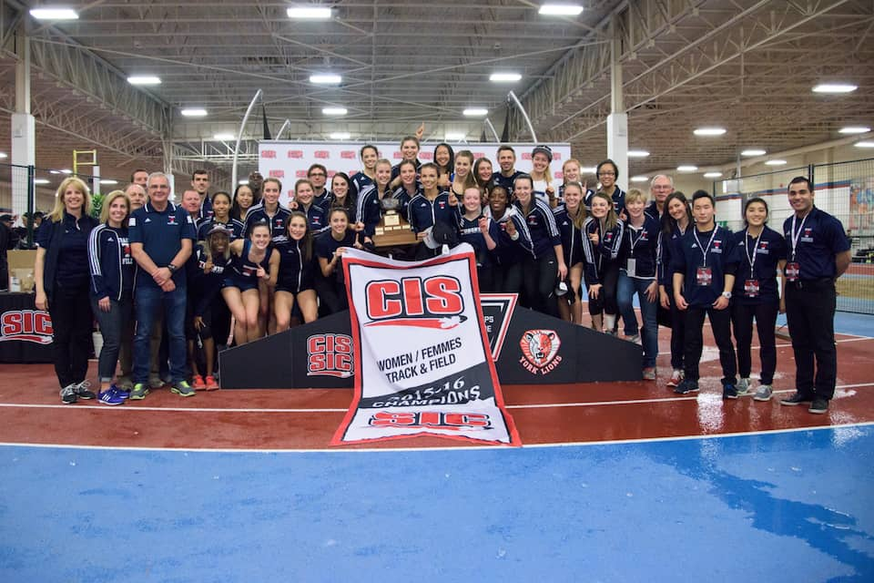 Women's track and field sweeps national championships