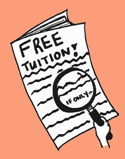 Beyond free education