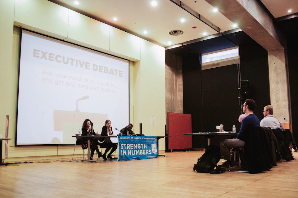 Controversies punctuate UTSU executive debate