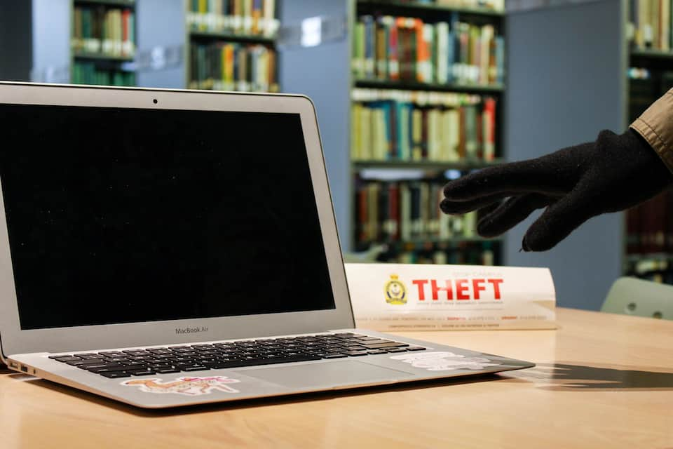 Library thefts on the decline
