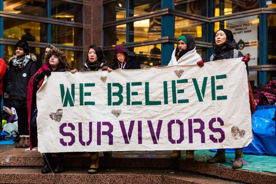 'We Believe Survivors'