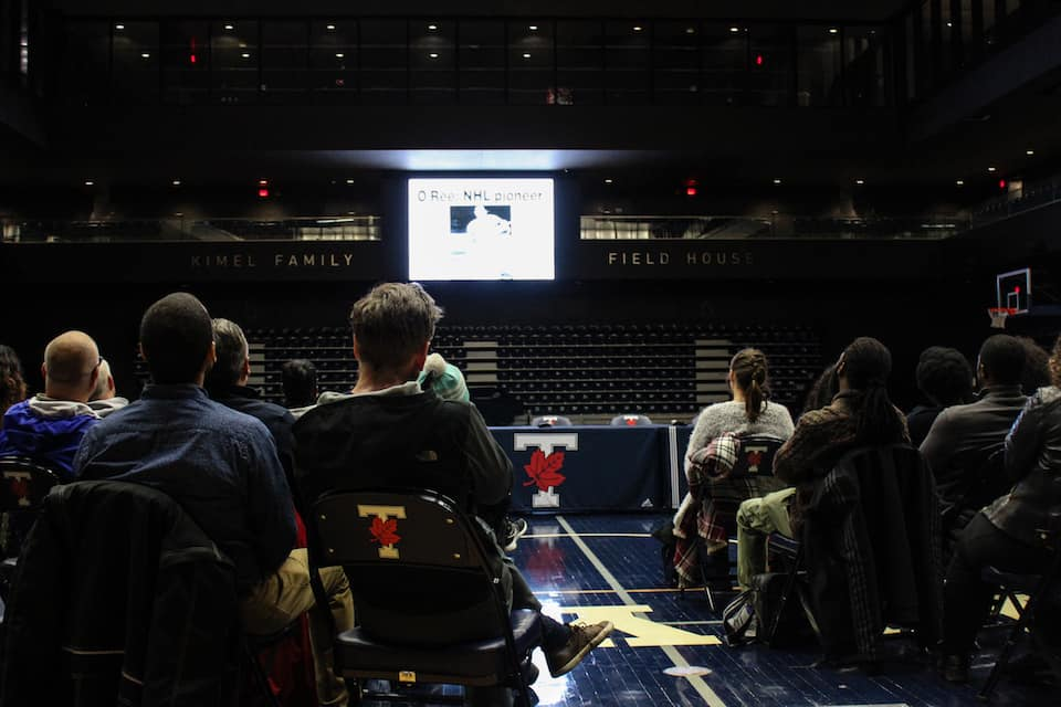 The Soul on Ice film screening at Goldring. Nyima Gyalmo/THE VARSITY