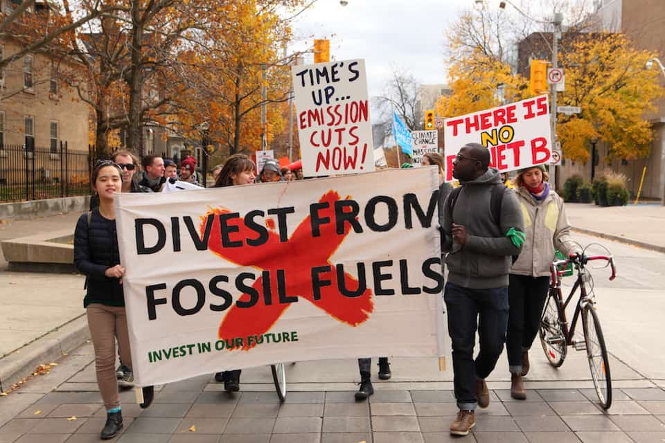 U of T rejects fossil fuel divestment recommendations